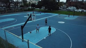 Best outdoor basketball court