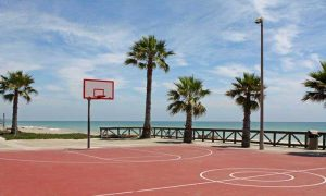 styra basketball ground