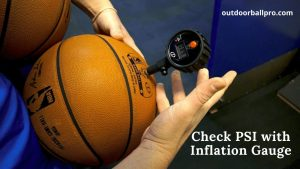 how to inflate a basketball properly